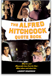 Image of book cover for THE ALFRED HITCHCOCK QUOTE BOOK by Laurent Bouzereau