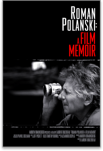 Image of movie poster for ROMAN POLANSKI: A FILM MEMOIR directed by Laurent Bouzereau