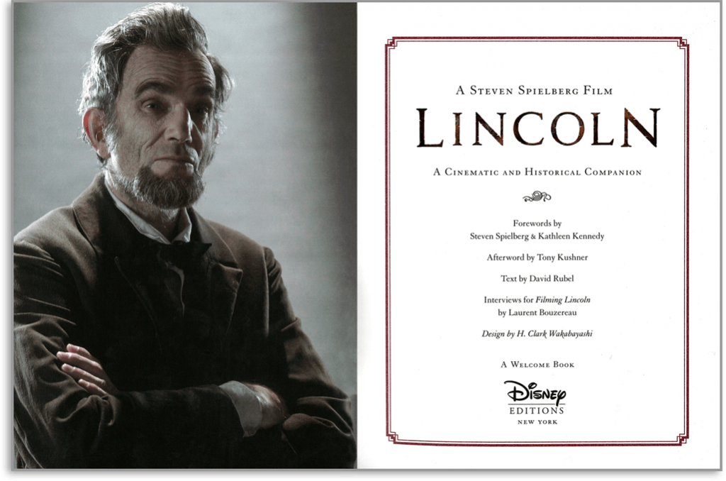 Lincoln inside cover
